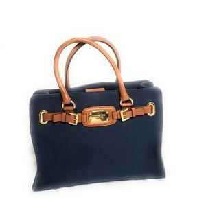 Michael Kors Leather Medium Tote Bag Handbag Purse